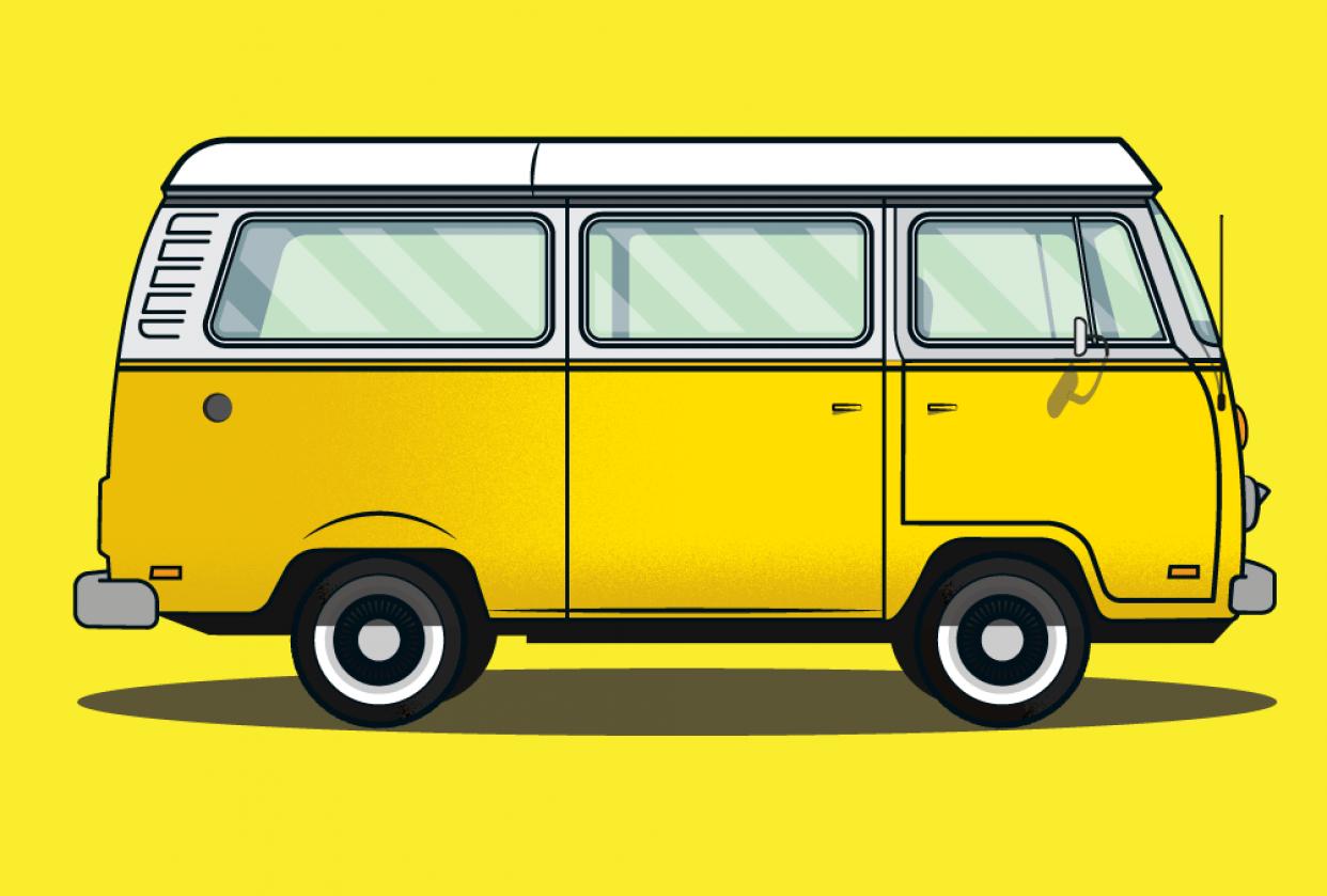 Little Miss Sunshine VW - student project