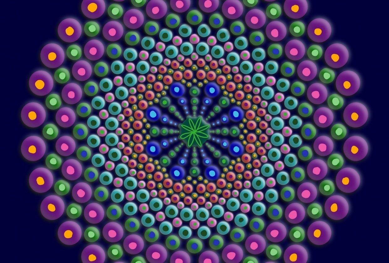 Dot Mandala - student project