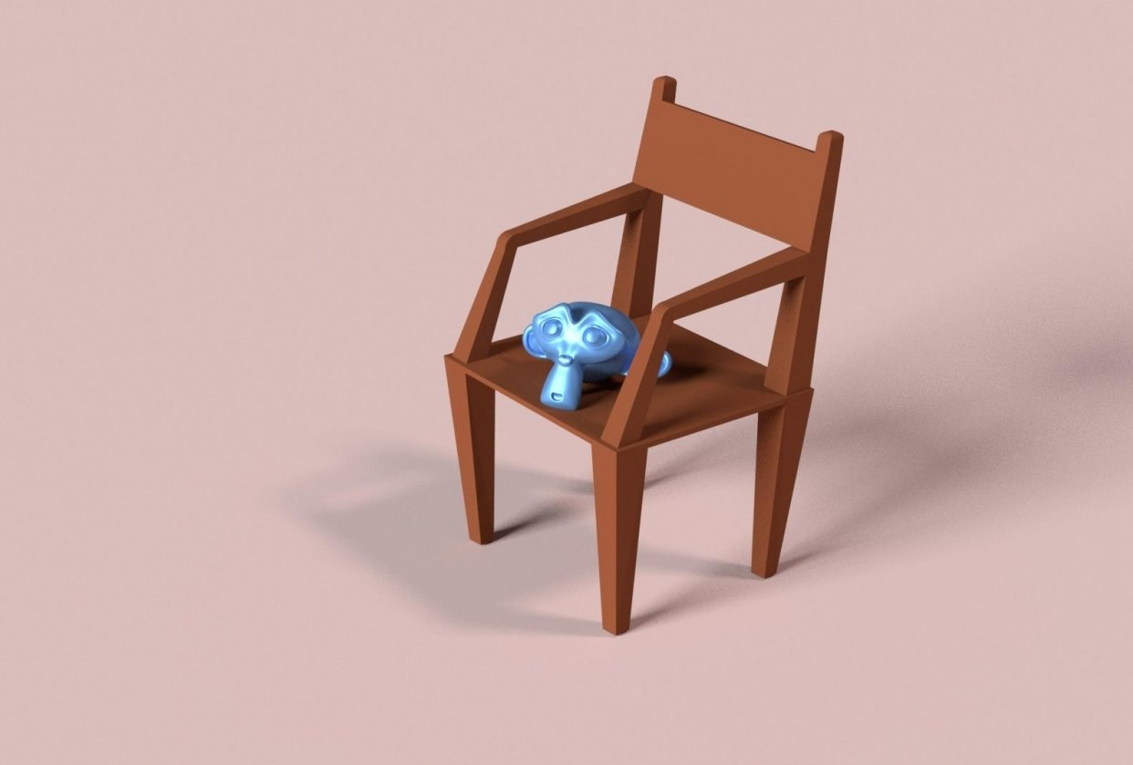 Chair with Suzanne - student project