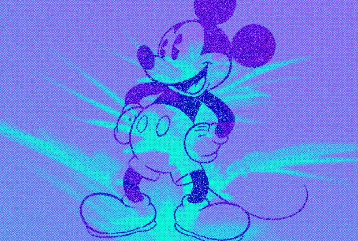 Mickey Mouse - student project