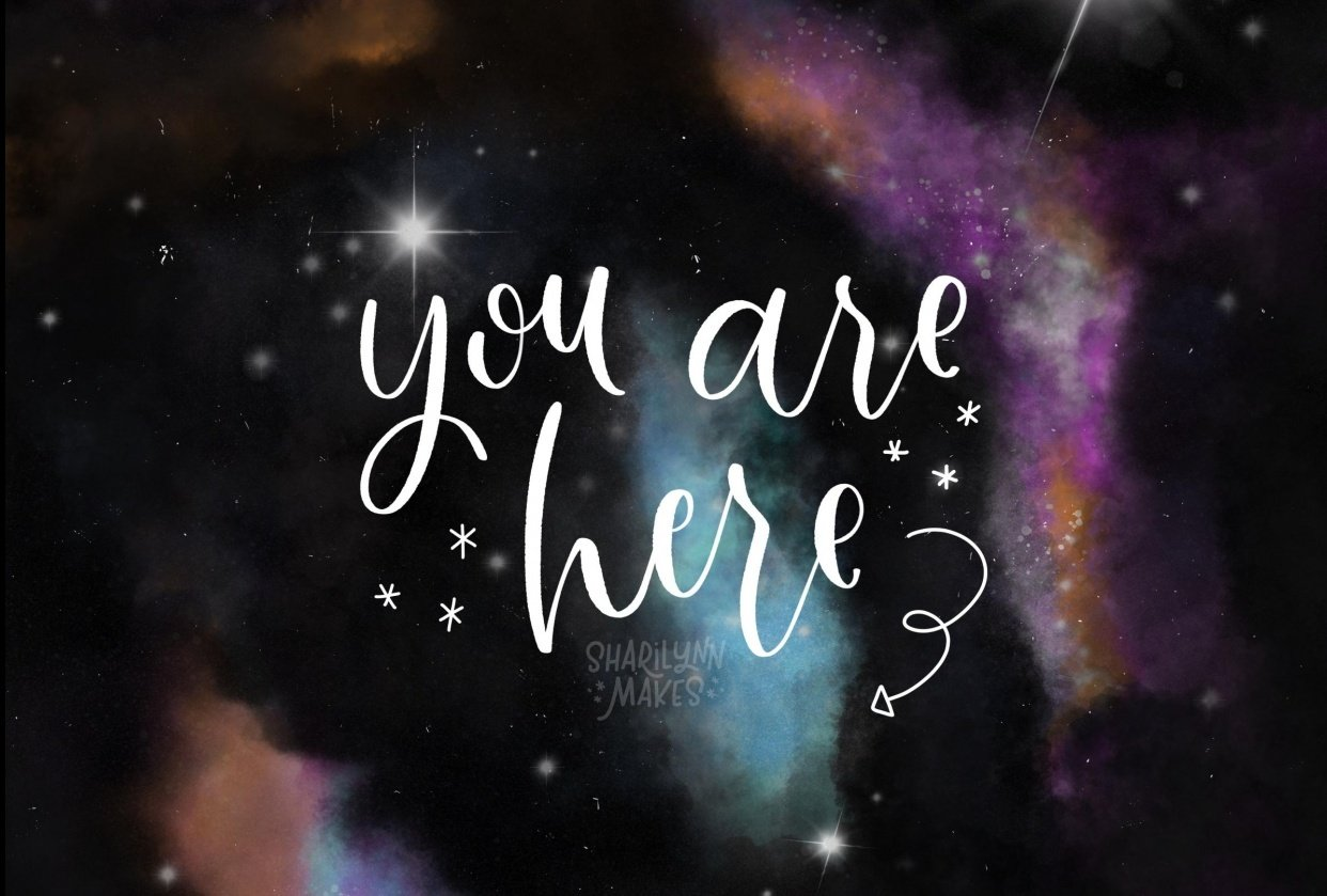 You Are Here - student project