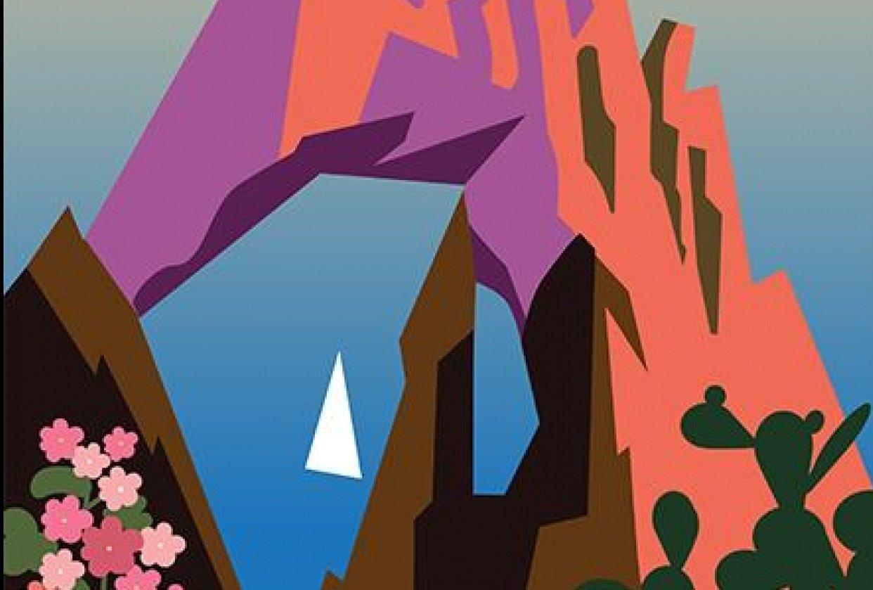 Capri Travel Poster - student project