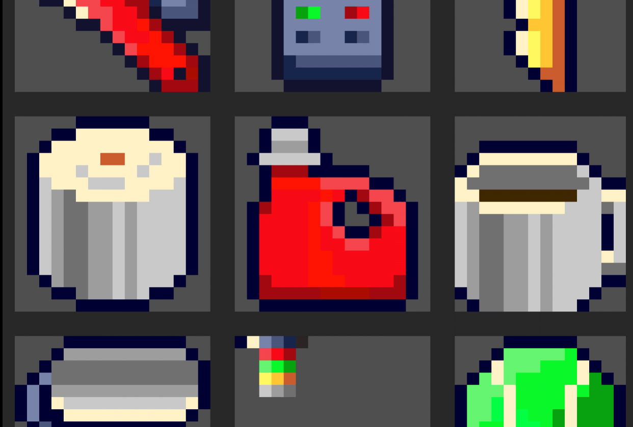 House hold item set - student project