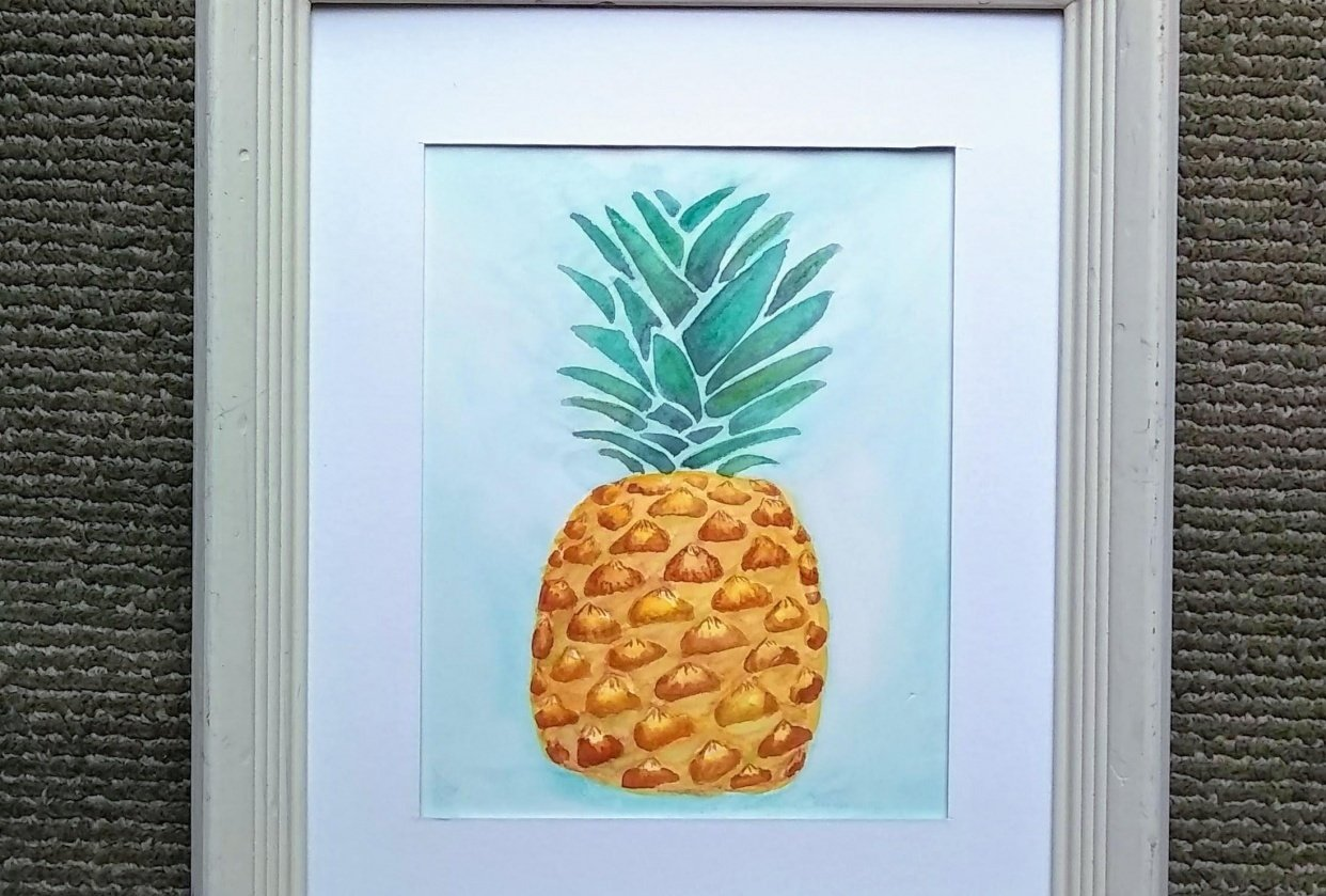 my pineapple! - student project