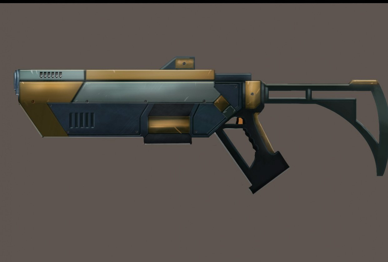 Pulse Rifle - student project