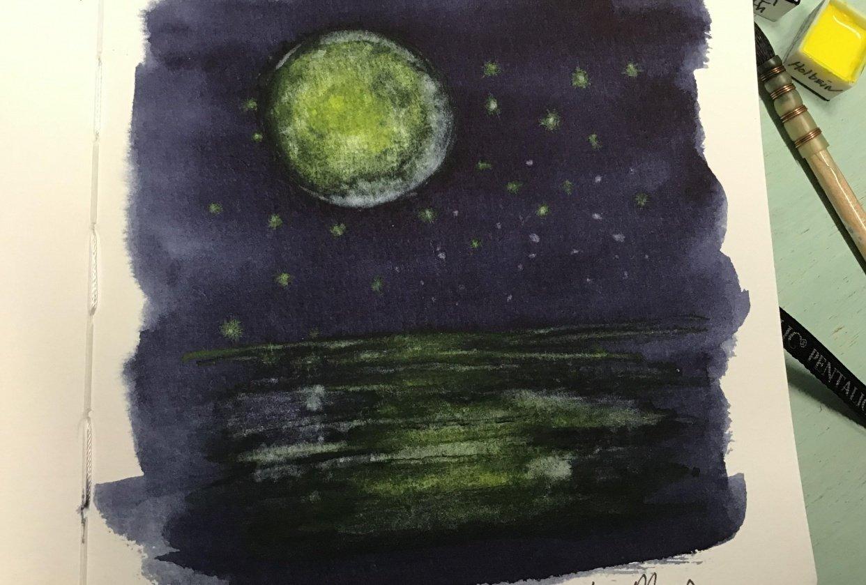 Indigo moon - student project