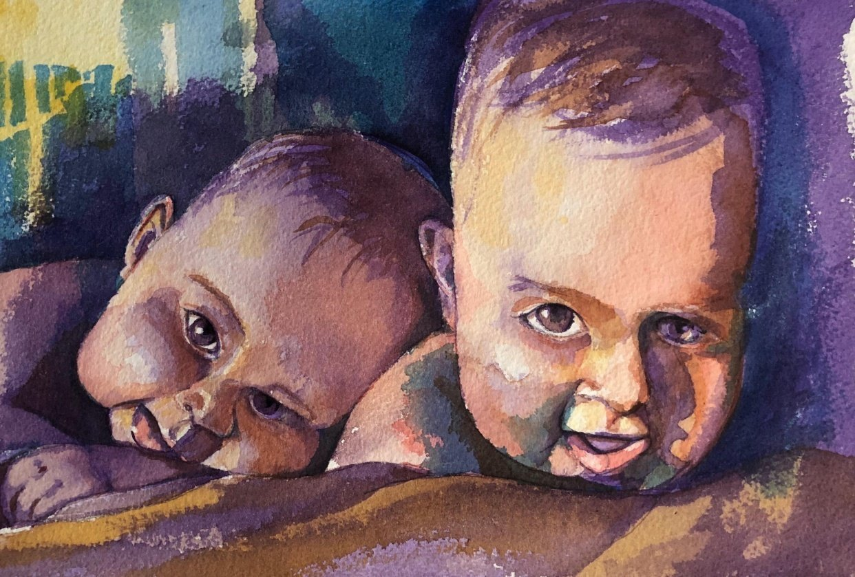 Twin Babies - student project
