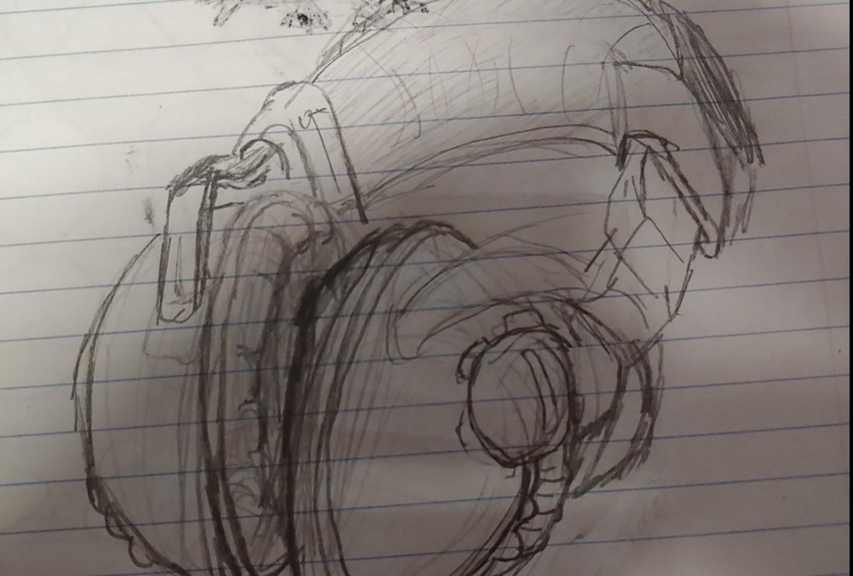 Headphones - student project
