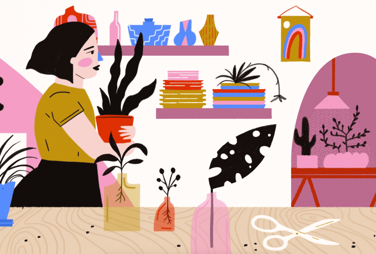 Plant Shop - student project