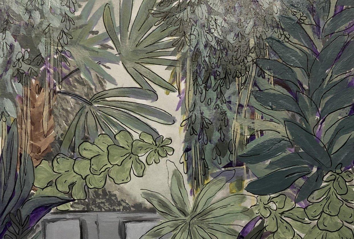 Botanical Scene - student project