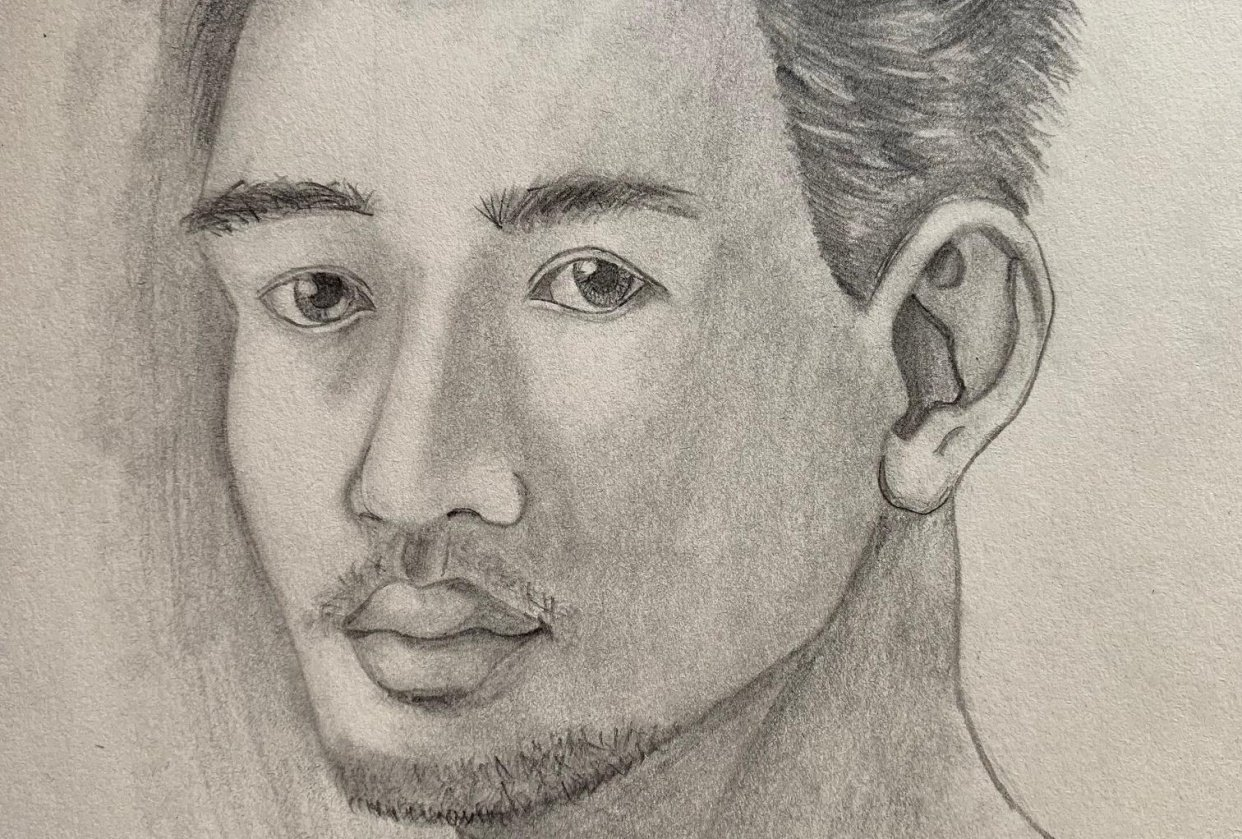 First Portrait! - student project