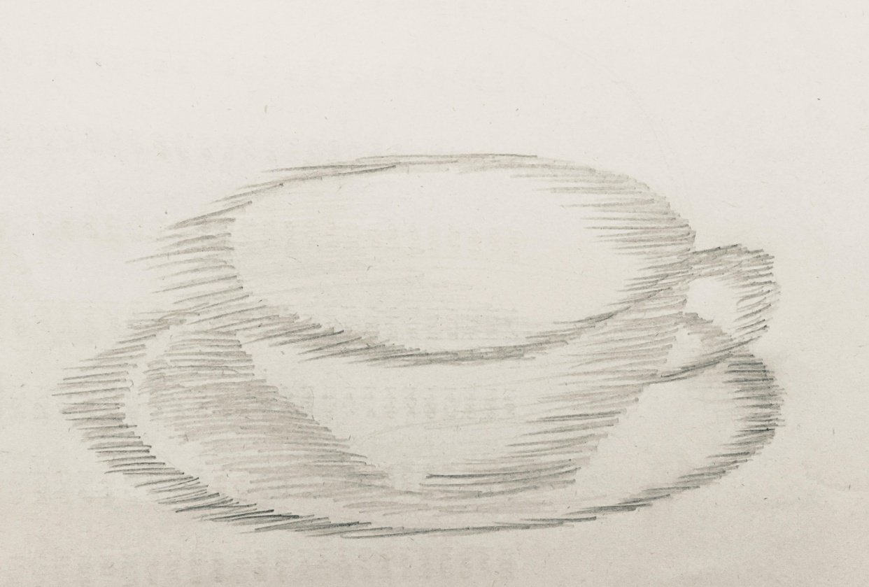 Tea cup - student project