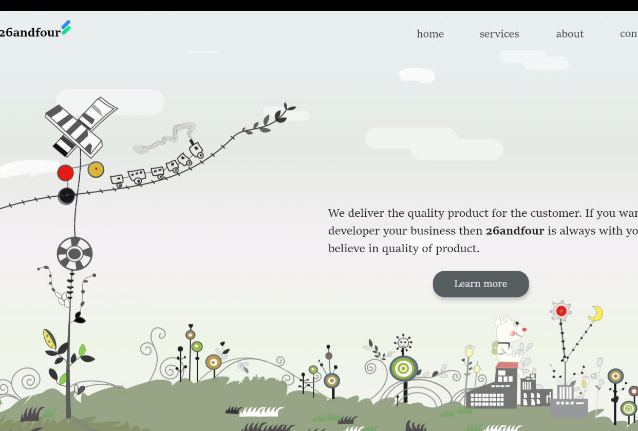 HomePage - student project