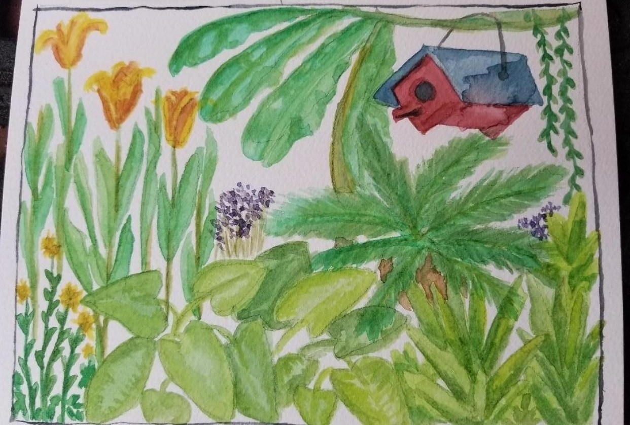 In My Garden - student project
