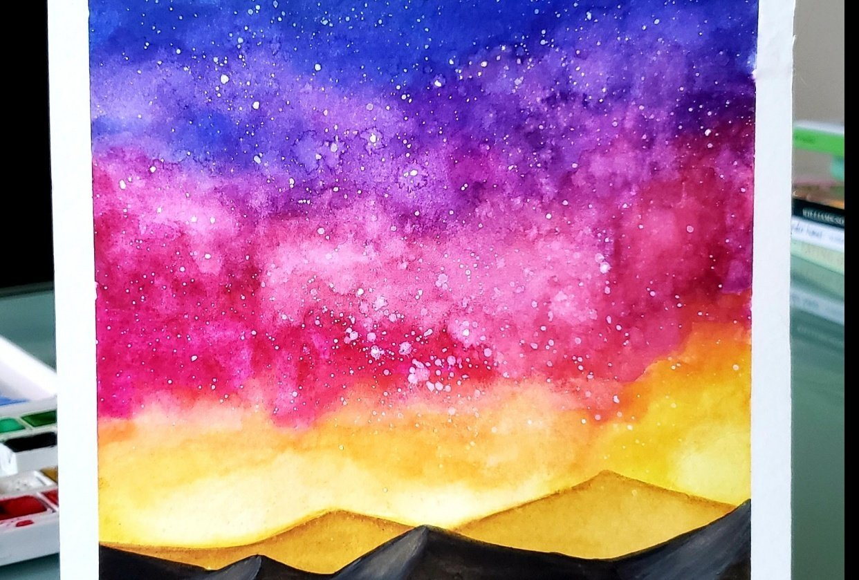 Sunset Dunes - student project
