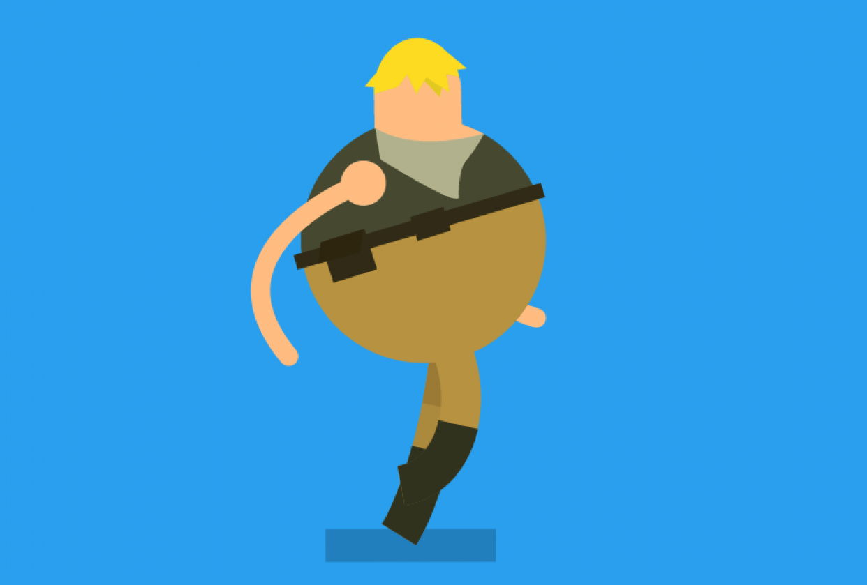 Animated Character - student project