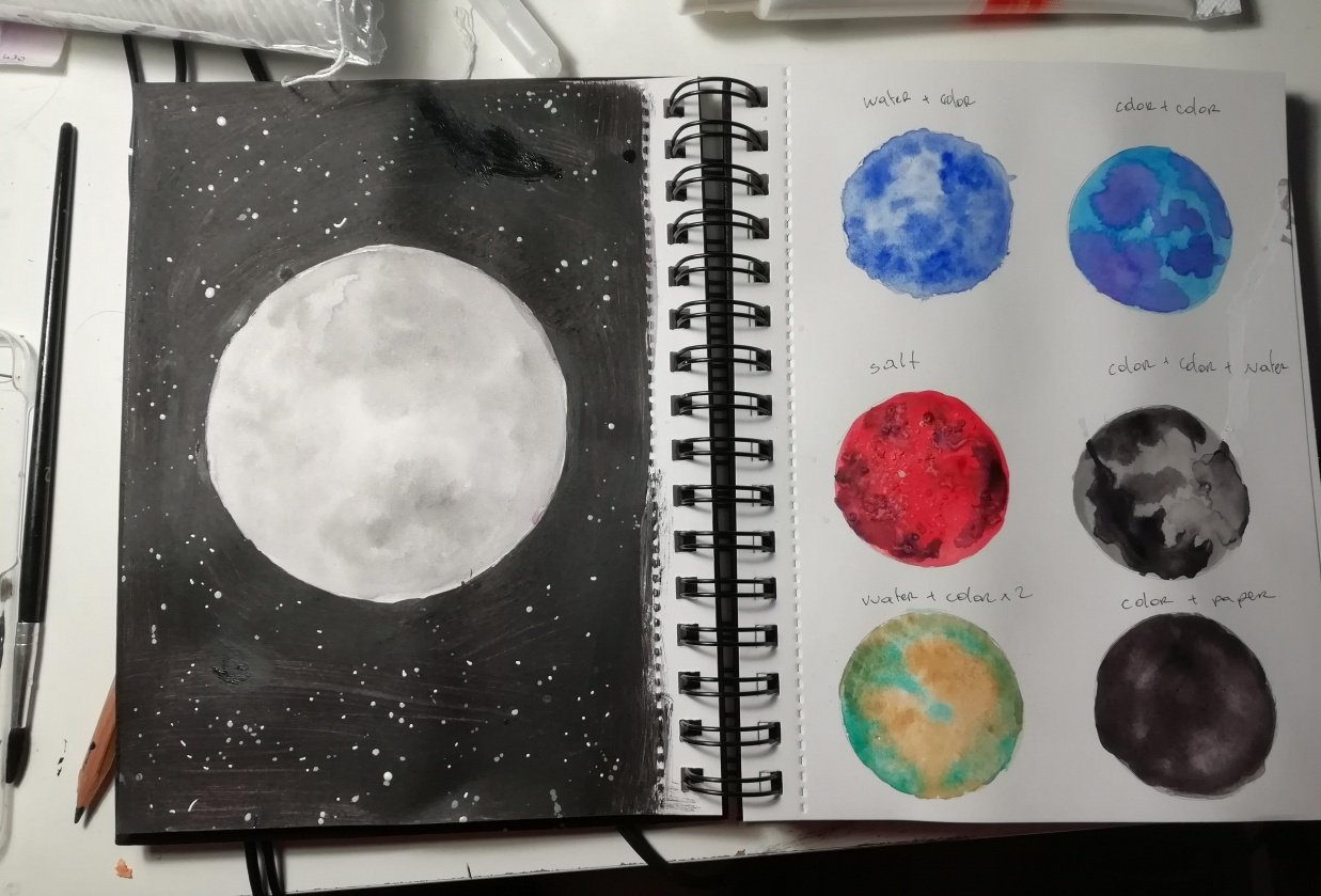 Moons ! - student project