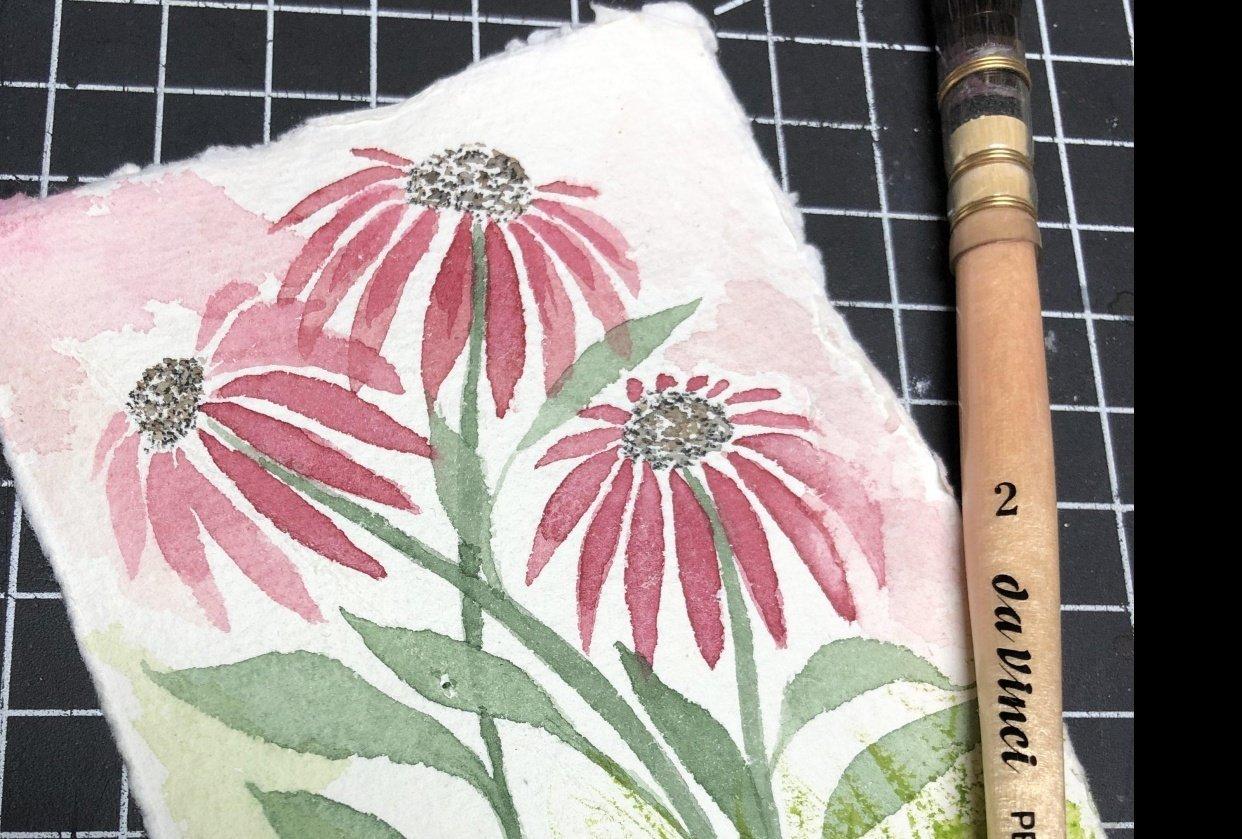 My Interpretation on 100% Cotton Rag Paper - student project