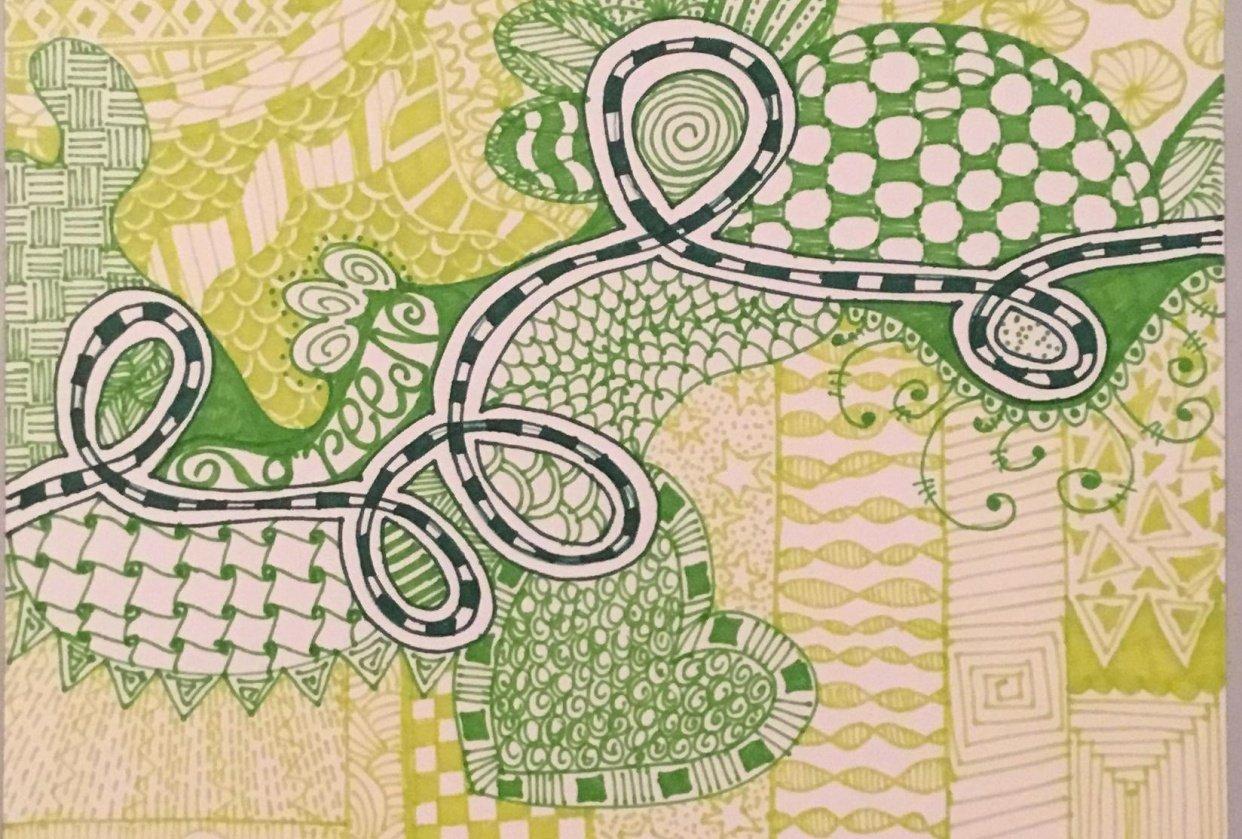 Big Green Doodle - student project