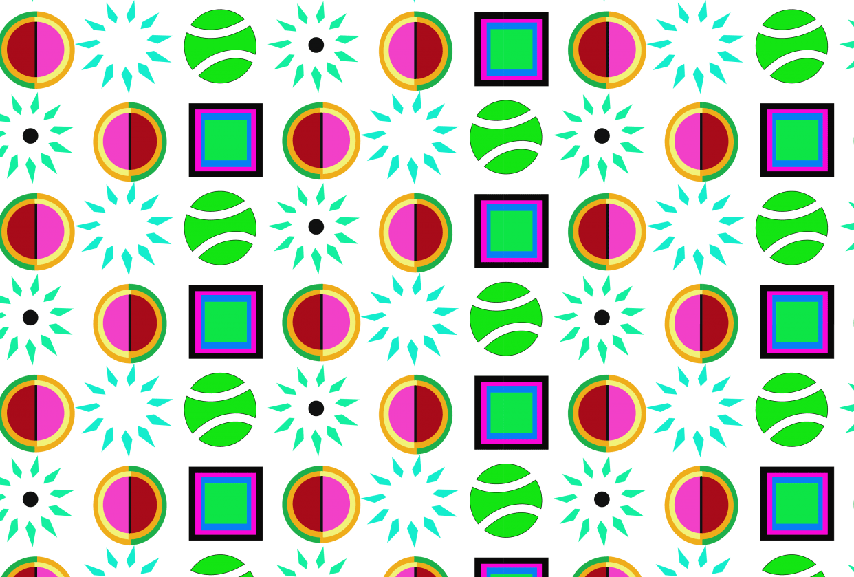 geo pattern - student project