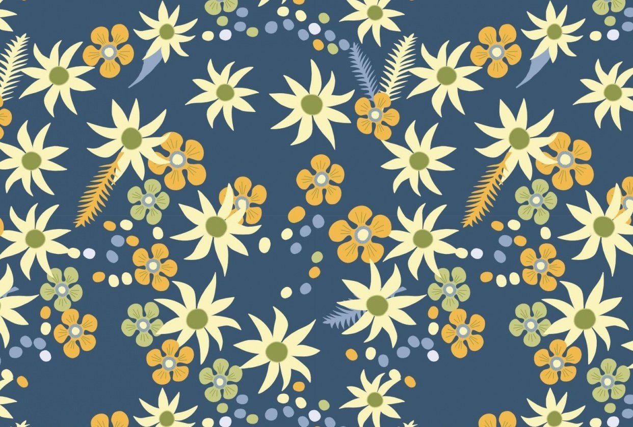 Flannel flower - student project