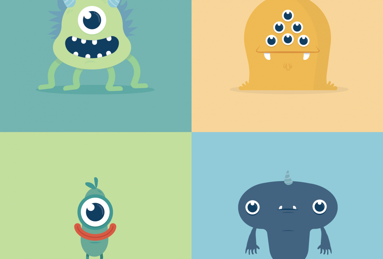 Monsters: Mugshots - student project