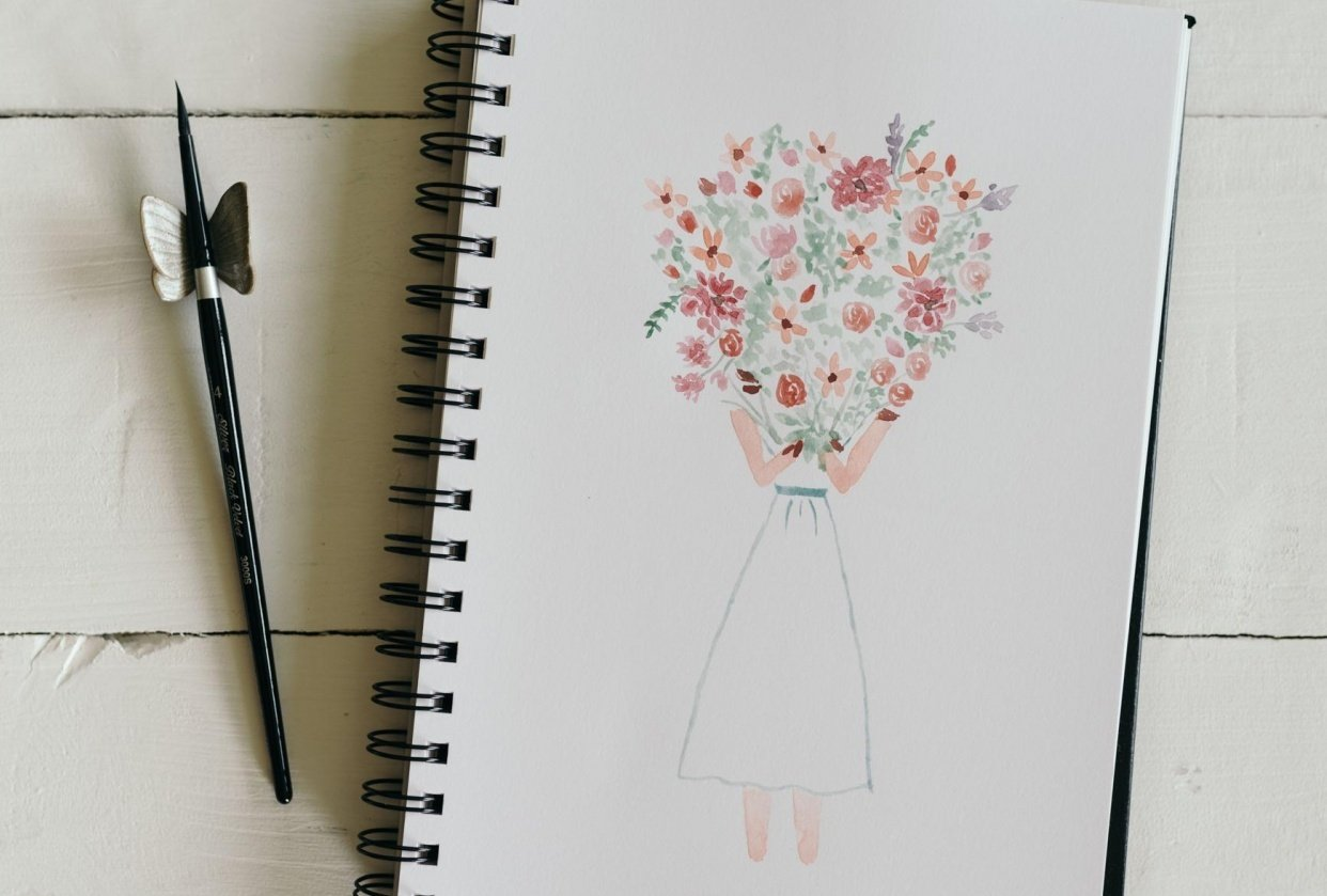 Summer Flowers - student project