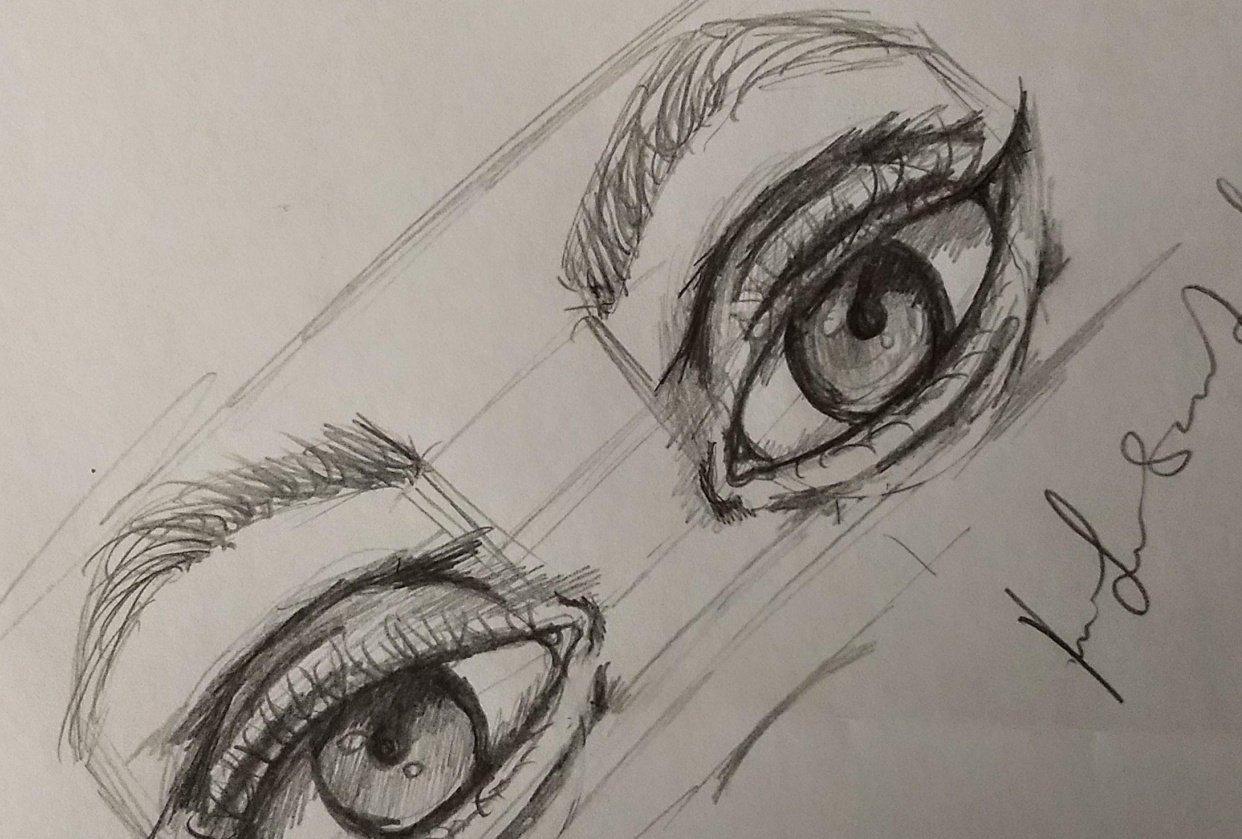 Dem eyes - student project