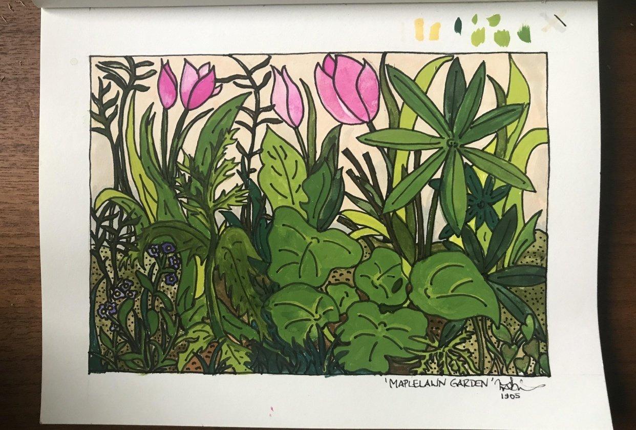 Maplelawn Garden - Ottawa, Canada - student project