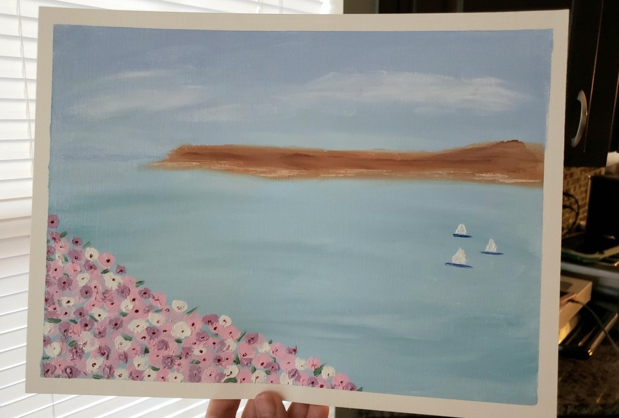 Seaside Flowers project - student project