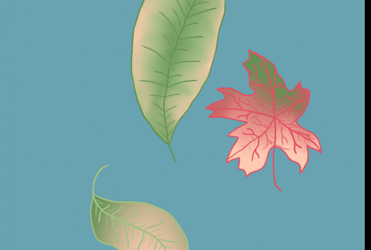 Dying Leaves - student project