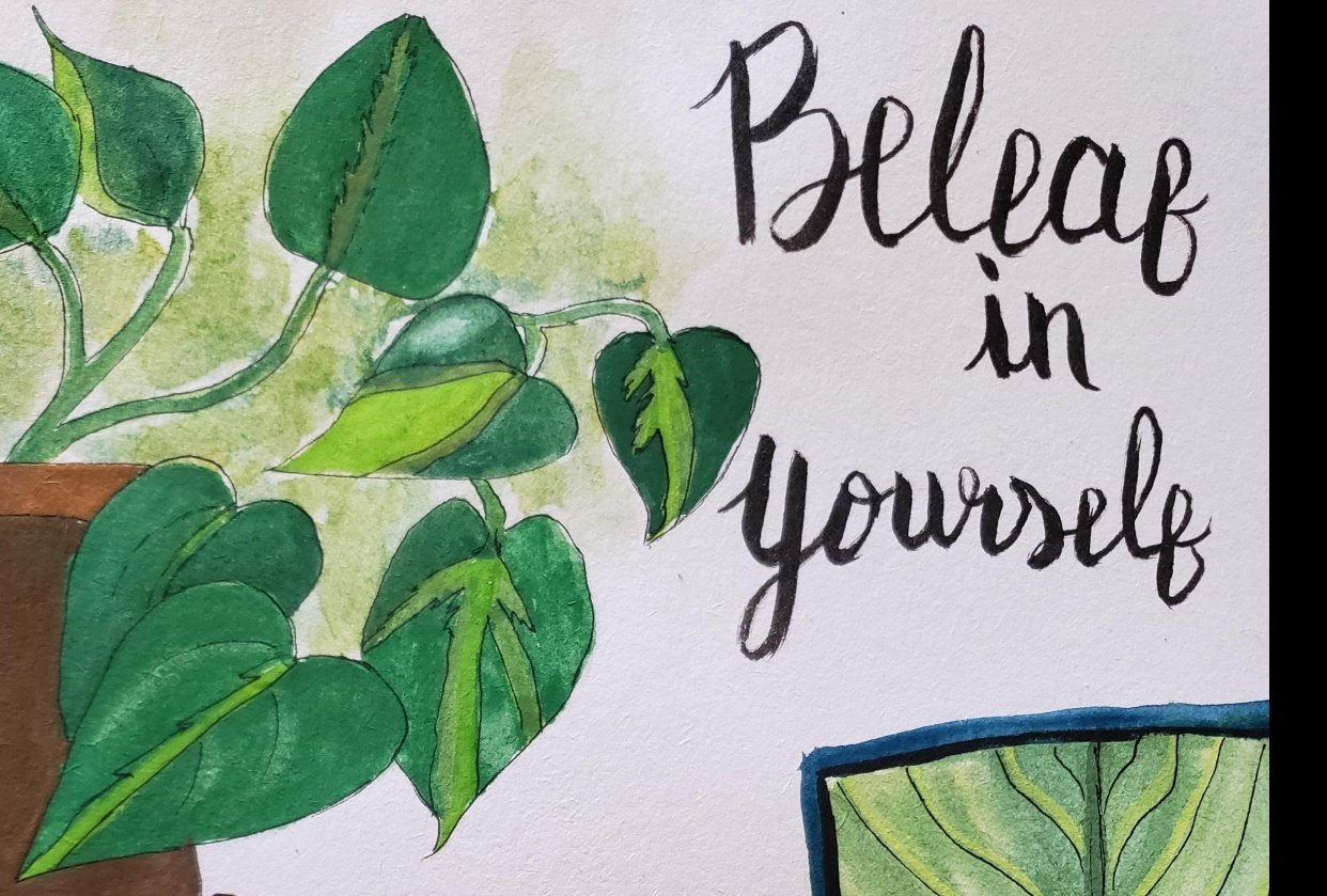 Beleaf in yourself - student project