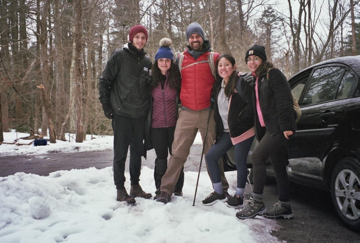 Winter Hike Survivors - student project