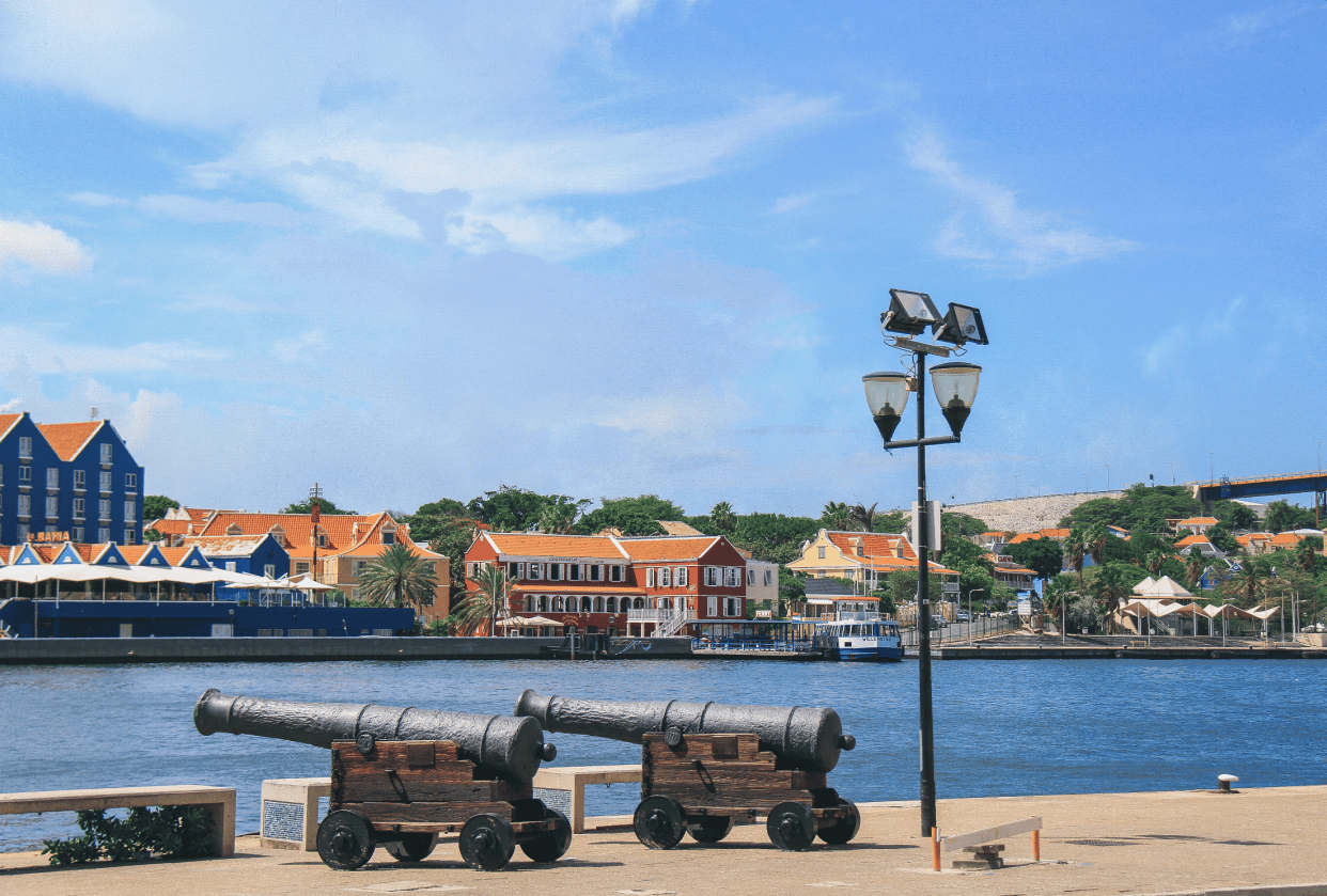 Before and after from my recent trip to curaçao. - student project