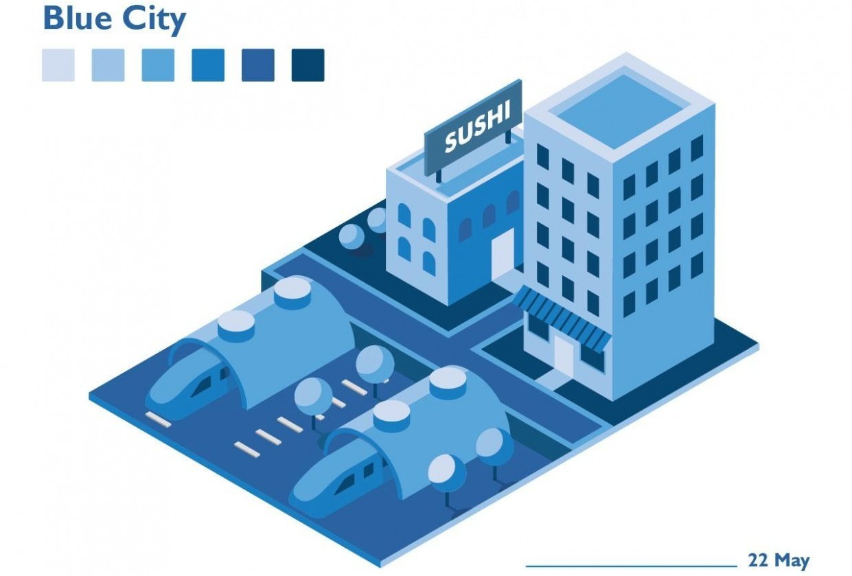 Blue City - student project