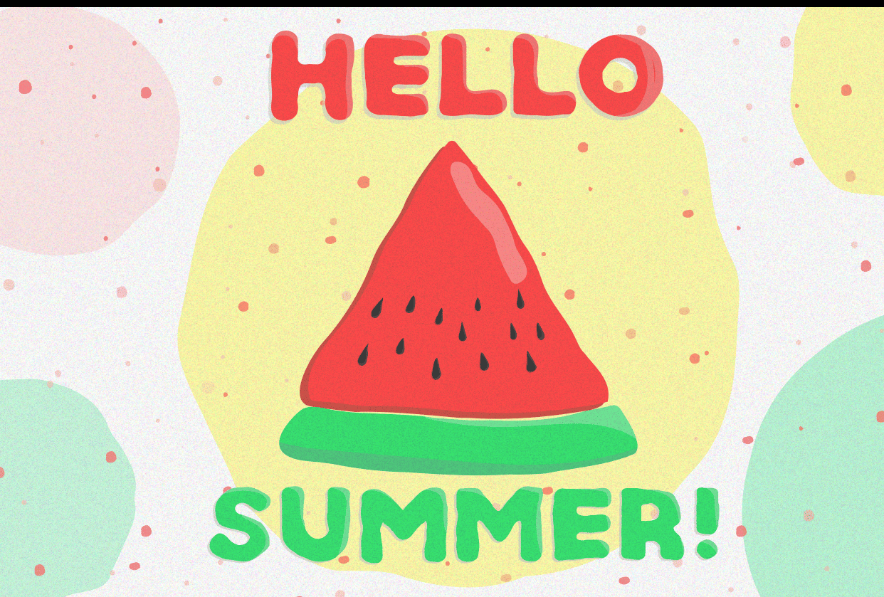 Hello summer! - student project