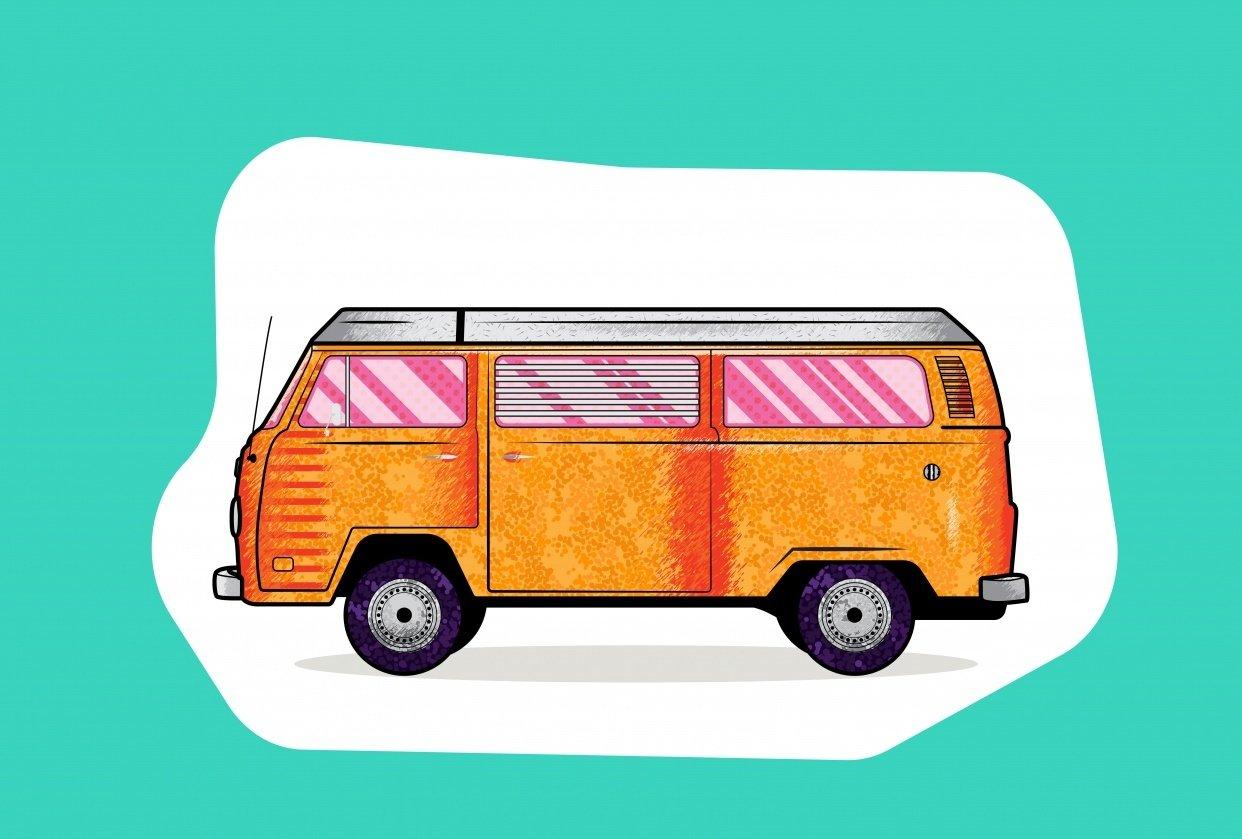 Car Illustration - student project