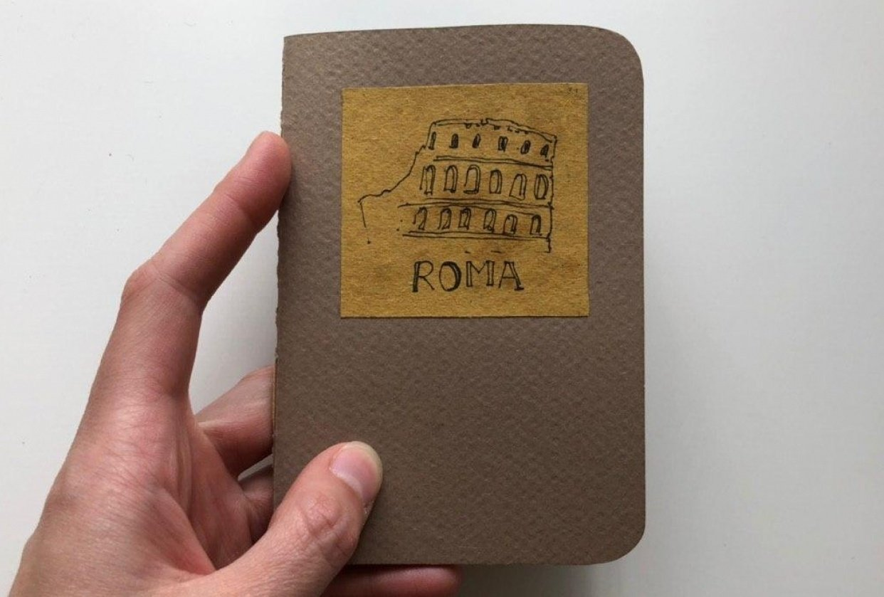 Roma Sketchbook - student project