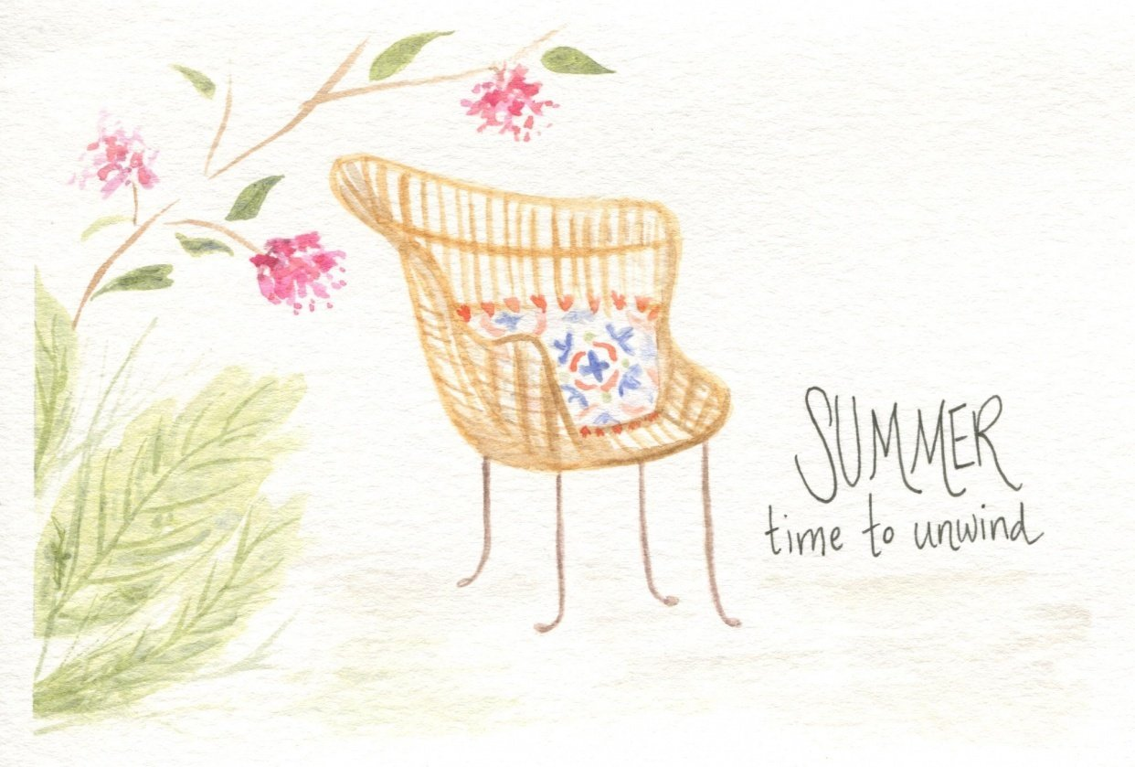Summer - Time to Unwind - student project