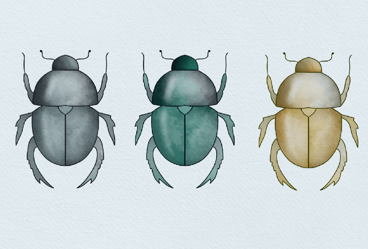 3 Scarabs - student project