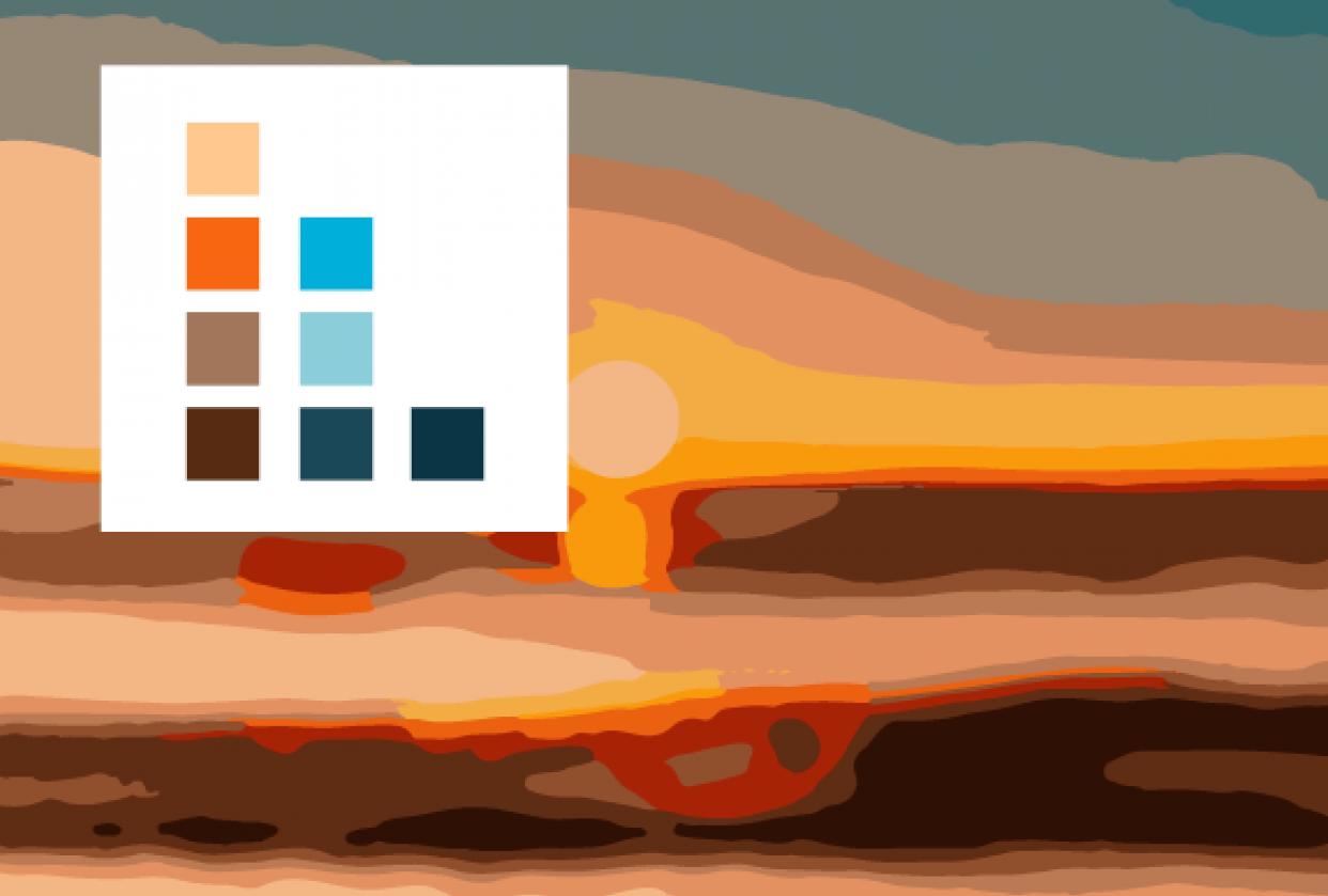 Beachy Color Palette - student project