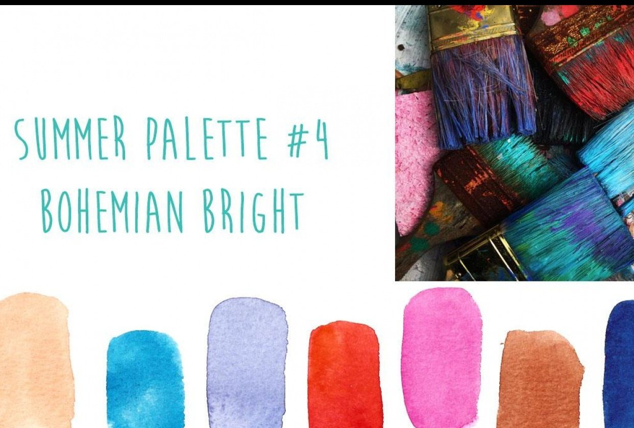 Summer Color Trends {Sample Project} - student project