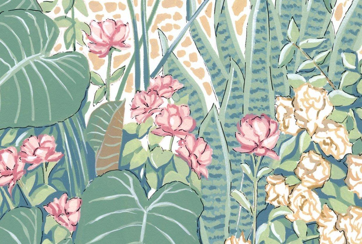 My Botanical Garden - student project