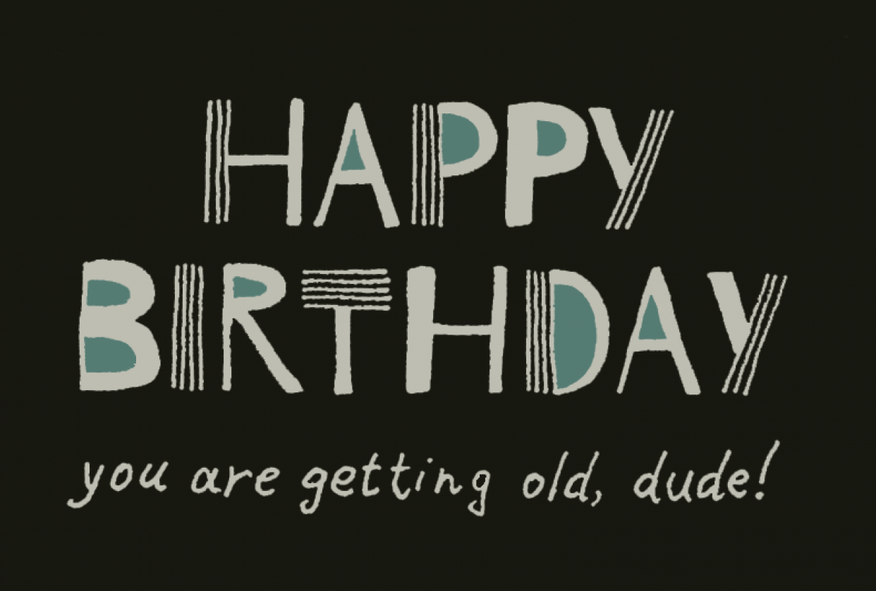 You are getting old! - student project