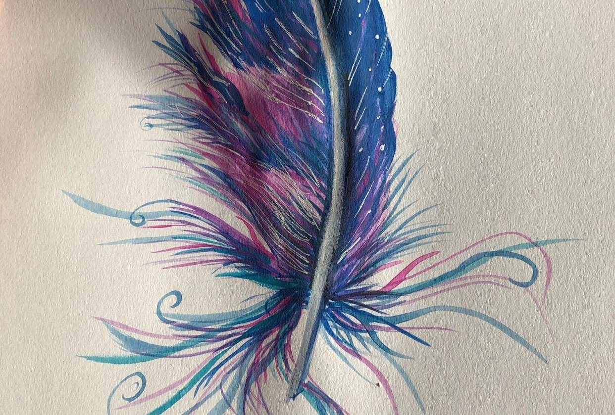 magic feather - student project