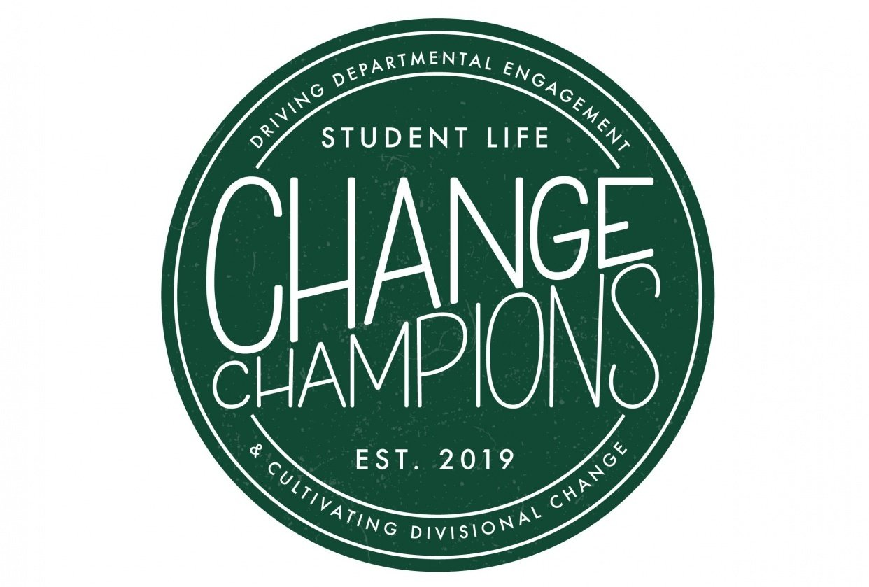 Circular Logo for Change Group - student project