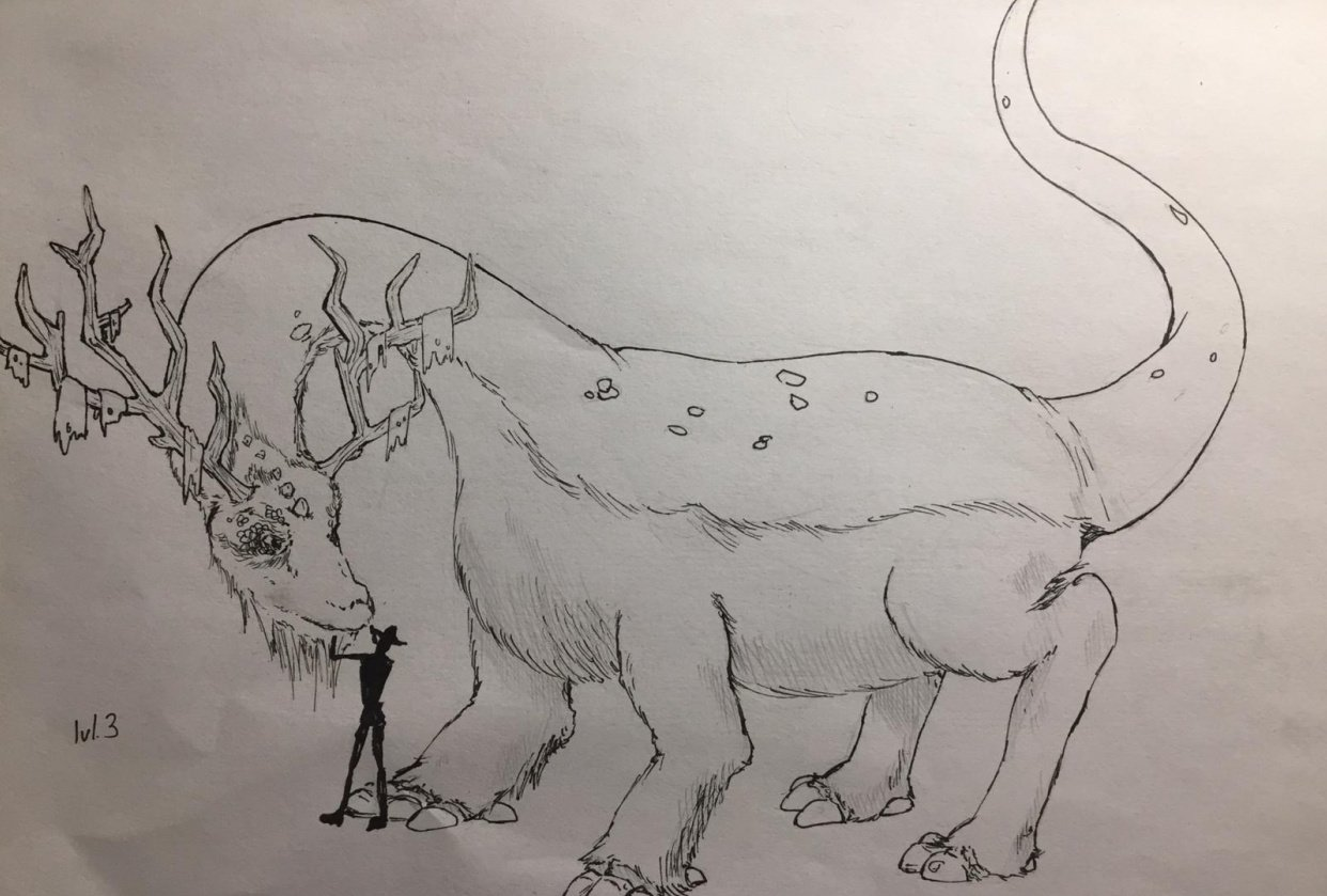 New creature - student project
