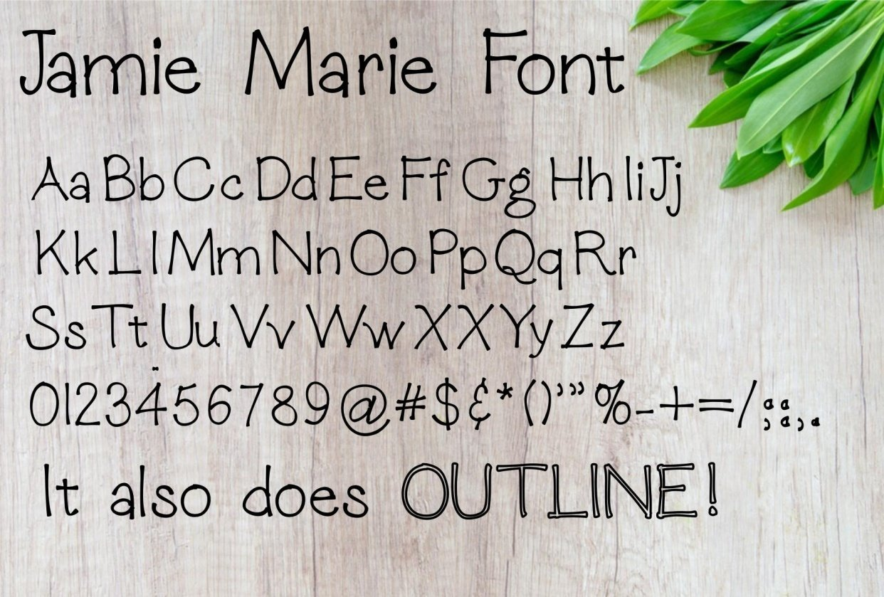 Jamie Marie Font - student project