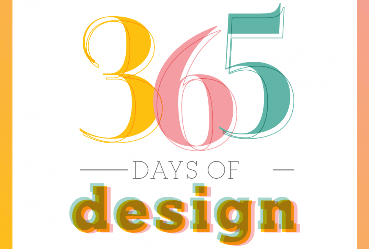 365 Days of Design - student project