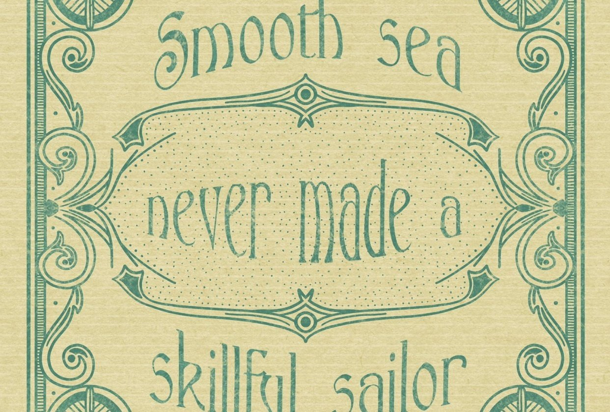 Skillful sailor - student project
